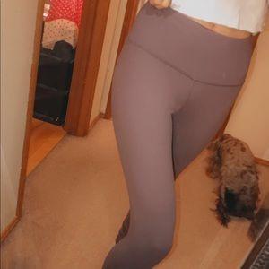 Pants - Muted purplish grey high waist leggings